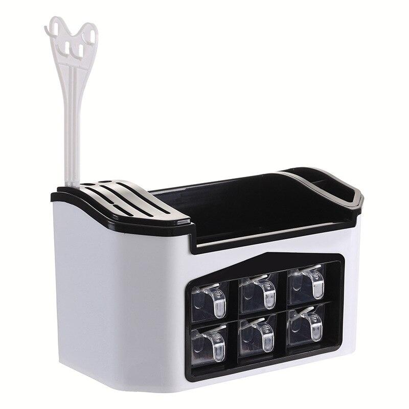 1317.82руб. 25% СКИДКА|Многофункциональная стойка для хранения Приправа Коробка органайзер кухня специи соус держатель для ножей Кухня контейнеры полки кухонные полки|Подставки для хранения и стеллажи| |  - AliExpress