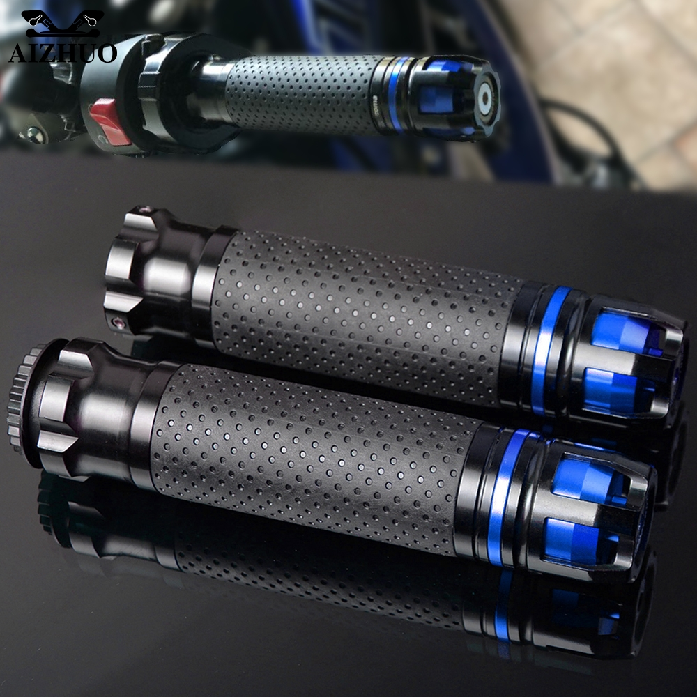 CNC Motorcycle Accessories Handle Grips Handlebar Hand Bar Grip FOR YAMAHA YZF R1 R6 2005 2006 2007 2008 2009 2010 2011 2012