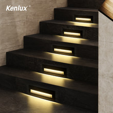 Hot Sale Step Stair Light 210mm Led Indoor Lamp Garden Lights Underground Wall Embedded Lighting Corner Footlight