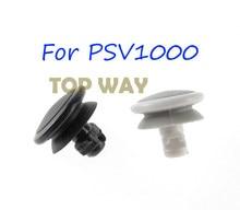 2 stücke FÜR PSV 1000 weiß schwarz 3D Analog Joystick kappe Für PSV1000 Taste Joystick Rocker kappe Für Psvita 1000 PSV 1000
