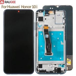 Image 1 - עבור Huawei Honor 10i LCD תצוגה + מסך מגע חדש Digitizer מסך זכוכית פנל החלפה עבור Huawei Honor 10i תצוגה מסך