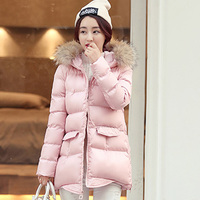 winter women's 2020 New, parka, Korean bubble coat, quilted jacket, raccoon fur collar, warm clothing, parkas,
