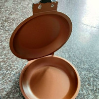 TV new pancake bonanza copper non stick frying pan double sided pan gold folding frying pan Griddles & Grill Pans Cooker