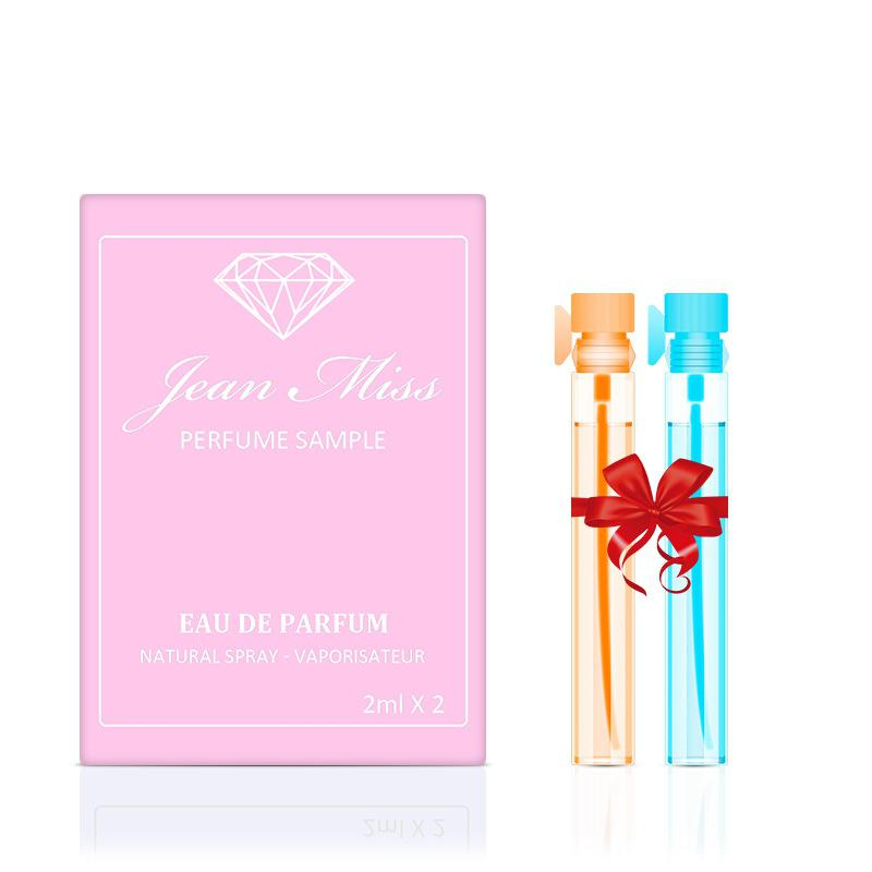 VIBRANT GLAMOUR 2 Pcs Women Perfume Set Mini Body Spray Summer Sweet Flower Fragrance Perfumes Scent