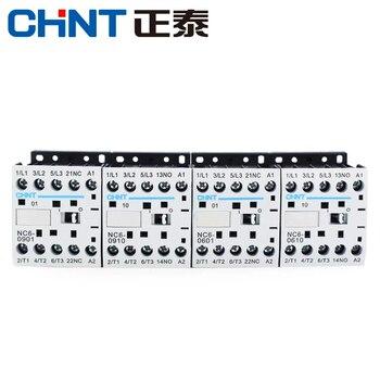 El Contactor CHINT AC NC6-0901 normalmente cerrado NC6-0910, normalmente abierto AC220V AC380V...