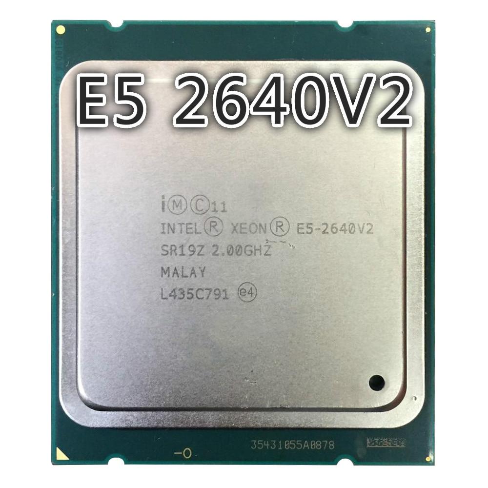 Intel Xeon E5-2640 v2 2.00GHz 8-Core Server CPU LGA2011 20MB SR19Z