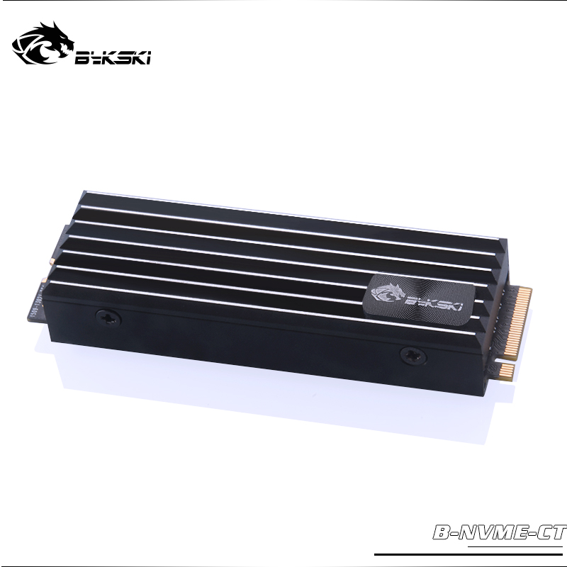 Bykski M.2 Heat-sink SSD Block Full Metal Radiator Aluminum B-NVME-CT