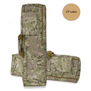 Image 5 - Черный/коричневый тактический Чехол для винтовки, страйкбольная кобура, сумка для оружия, тактический охотничий рюкзак, Военный Рюкзак, Сумка для кемпинга, рыболовных принадлежностей