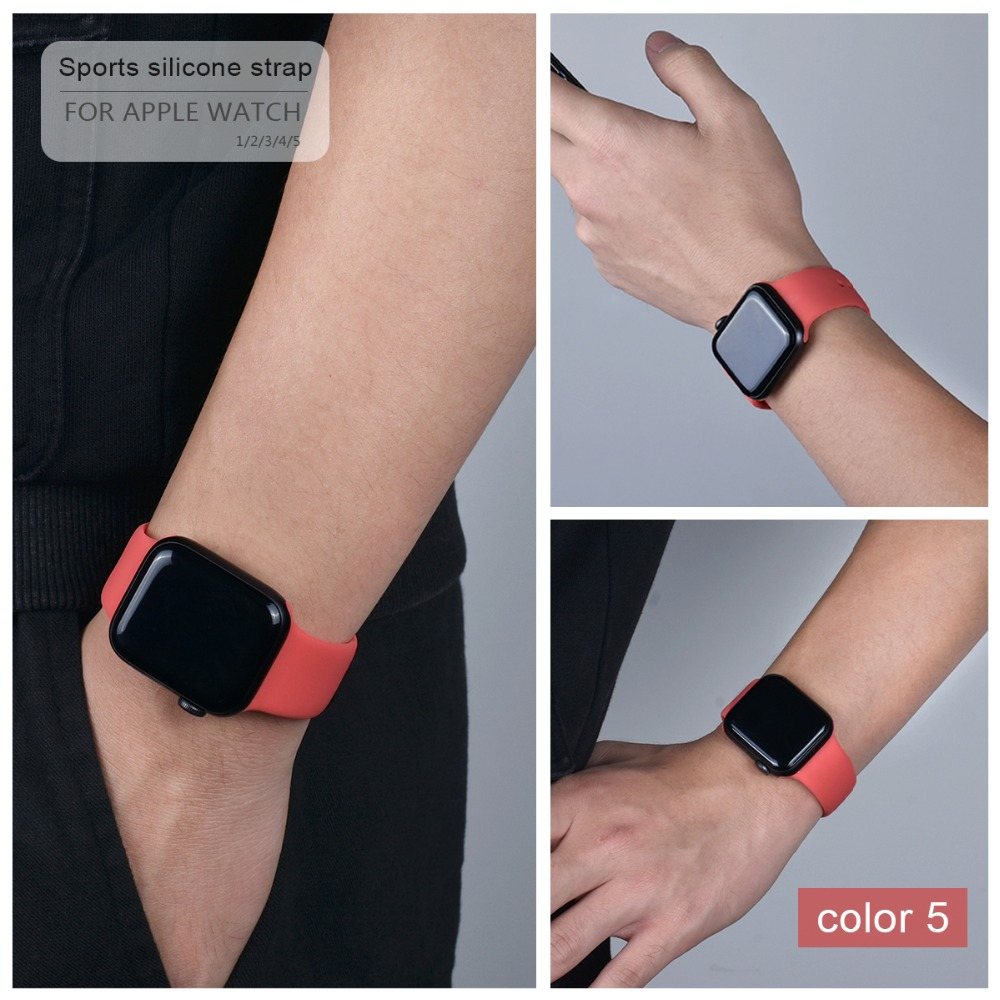 Colorful Silicone Band for Apple Watch 111