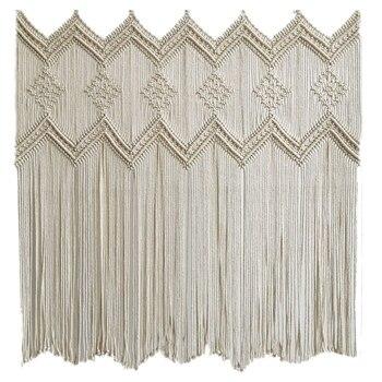 Macrame Window Curtains
