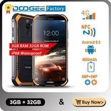Neue DOOGEE S40 Robuste Android 9,0 Handy 5,5 zoll Display 4650mAh MT6739 Quad Core 3GB RAM 32GB ROM 8,0 MP IP68/IP69K 4G