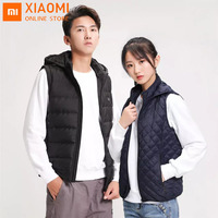 Xiaomi PMA Graphene Heating Vests Down Jacket Men Women Thermal Clothing Waistcoat Jacket For Outdoor Sports Winter Coat