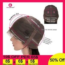 """Aphro Hair 360 парик на кружеве с детскими волосами 1""""-24"""" Remy бразильские прямые парики на кружеве для женщин"""