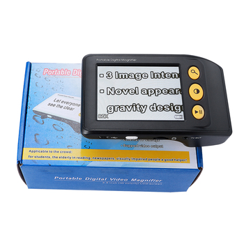 Handheld  Low Vision video magnifier Reading magnifier Aids Digital Video Magnifier electronic microscope 2-25X TV output