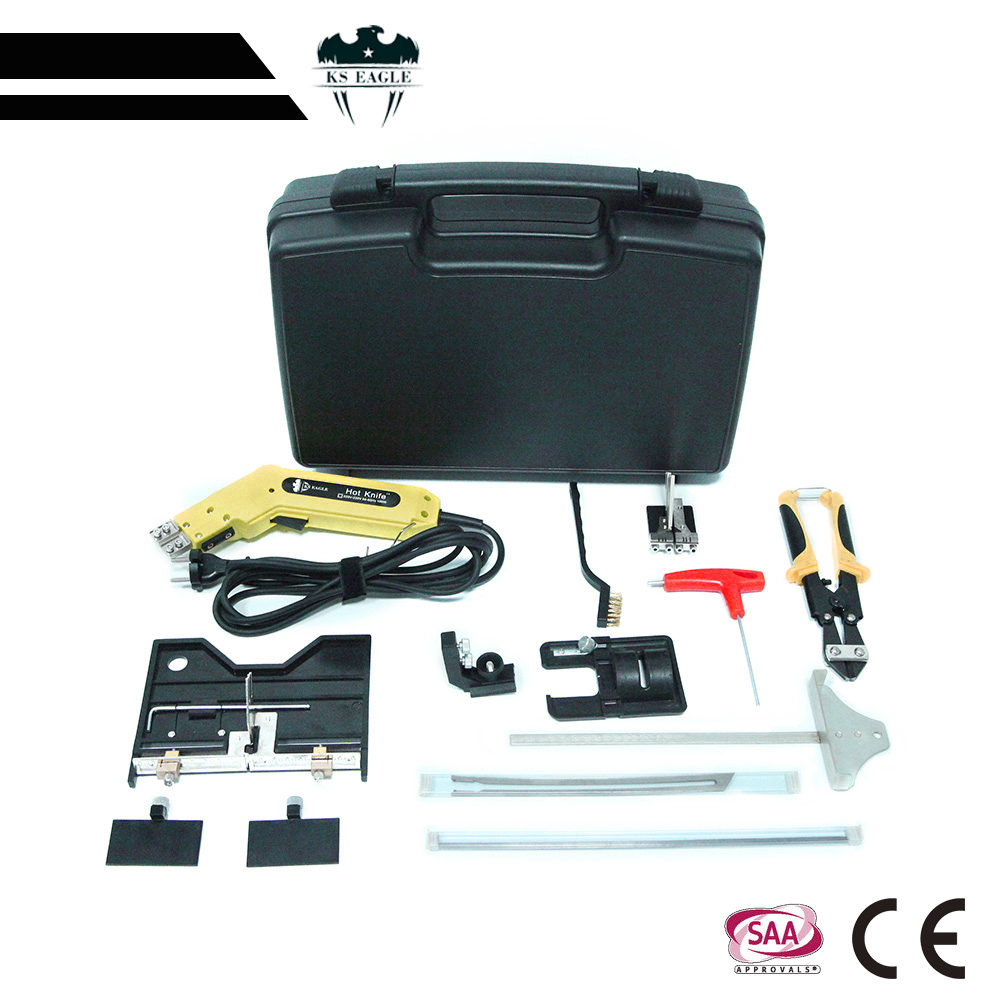 Tools : KS EAGLE Pro Electric Hot Knife Foam Cutter Styrofoam Cutting Tool Kit Air Cooled Electric Hot Knife Continuous Use