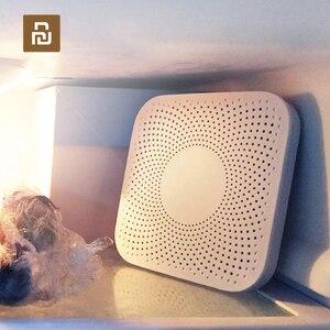 Image 1 - Youpin VIOMI VF 2CB כיכר לבן מטבח מקרר מטהר אוויר ביתי אוזון חיטוי Deodor מכשיר טעם ליבת מסנן