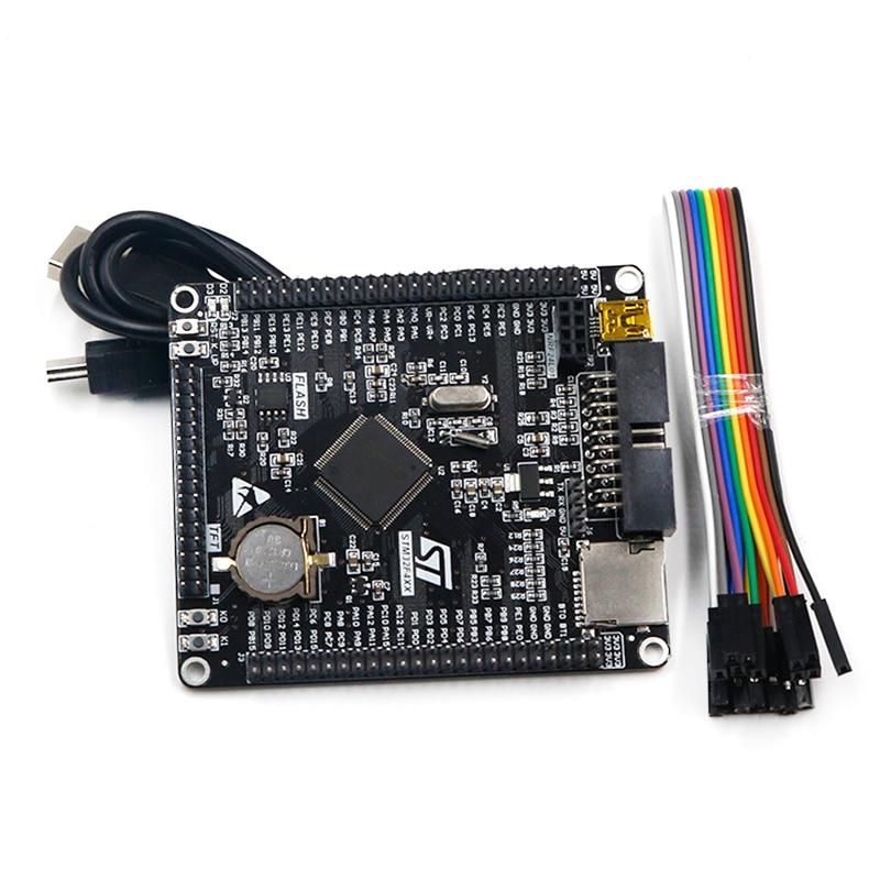 Free shipping STM32F407VET6 development board Cortex-M4 STM32 minimum system learning board ARM core board 水 転写 クロス ボーン