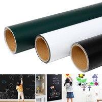 45x100 см магнитные наклейки на стену, на доску детский Мел Рисование доска для заметок офисная доска Зеленая самоклеющаяся съемная