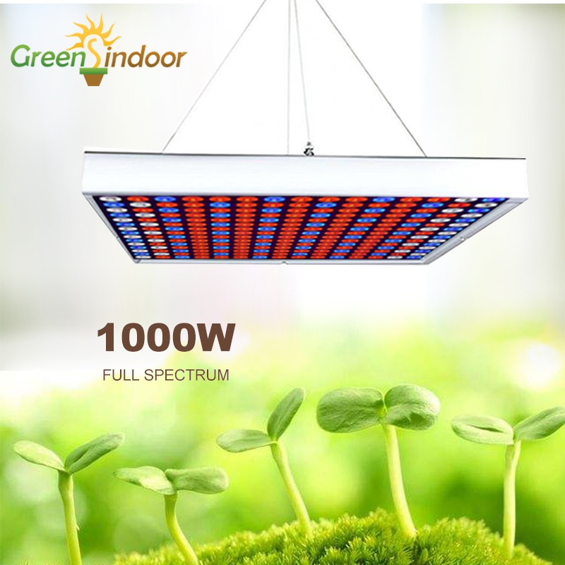Full Spectrum Phyto Lamp 1000W LED Grow Light Lamp For Plants Seedling Fitolamp Cultivation Red Blue White Leds Indoor Growing