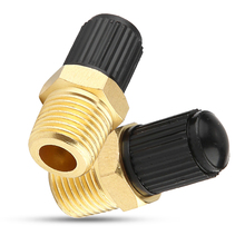цена на 2Pcs Car Air Compressor Relief Valve Pressure Release Regulator 1/8inch NPT MPT Brass Air Compressor Valve Car Accessories