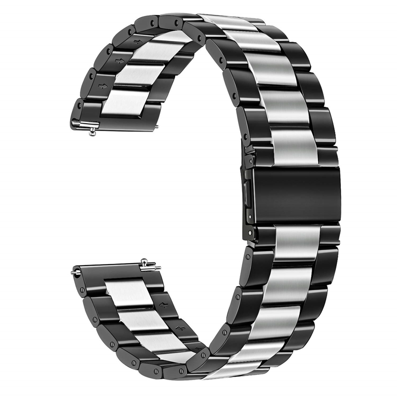 Band For Galaxy Watch Active 2 40mm 44mm 20mm Stainless Steel Metal Bracelet Strap Wrist Bands For Samsung Galaxy Watch Active2
