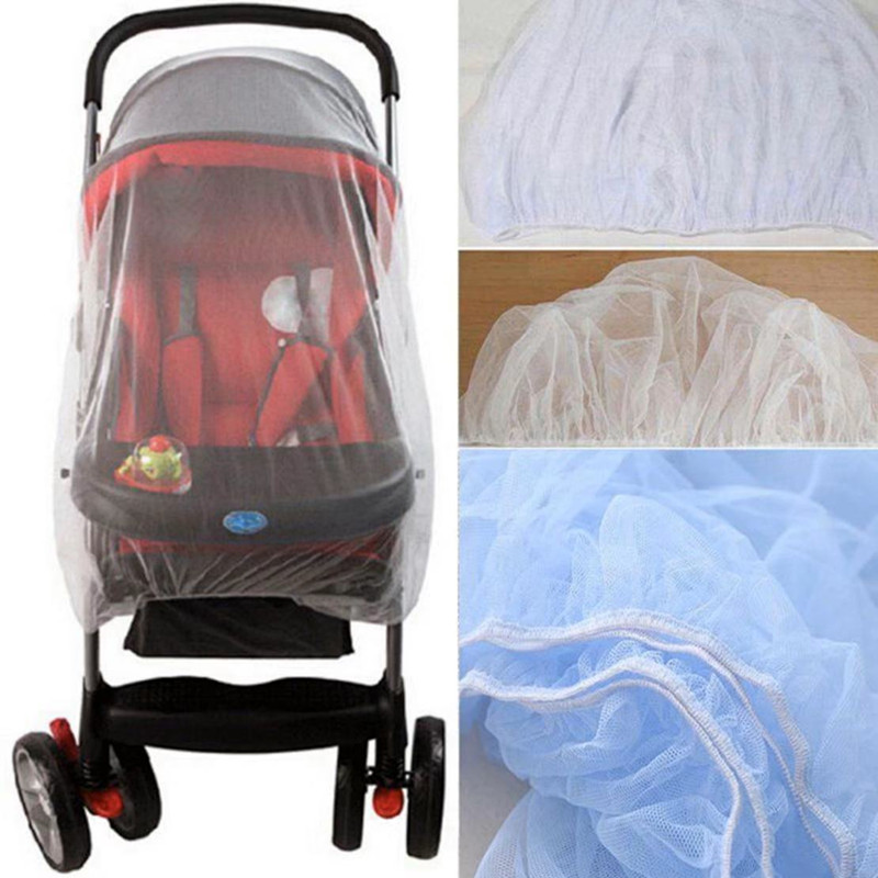 2pc/lot Baby Stroller Pushchair Mosquito Insect Shield Net Safe Infants Protection Mesh Stroller Accessories Cart Mosquito Net