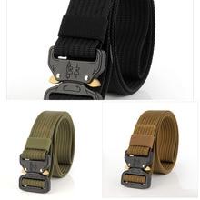 Belt LOVESLF Waist-Strap Tactical-Belt SWAT Metal-Buckle Army-Style Nylon Military Cinturon-Quality