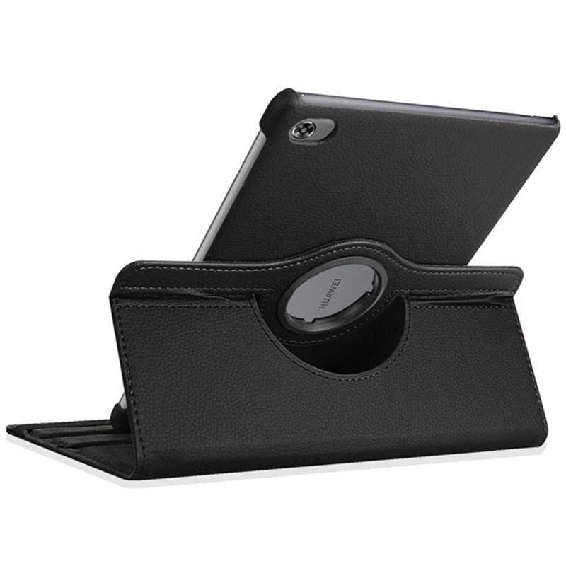 Xoay Cấp Kiểu Bao Da Cho Huawei MediaPad T5 T3 M3 M5 M6 Lite 10 10.1 9.6 8.0 Matepad Pro 10.8 Bao Da Túi Xách Đựng Máy Tính Bảng Ốp Lưng