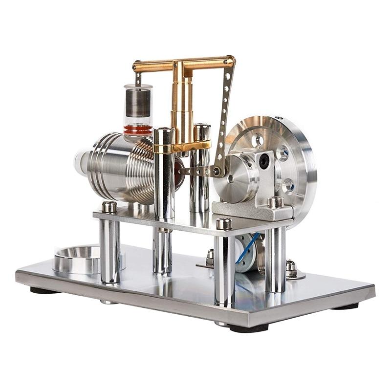 Miniature Balance Engine Model Motor Early Education ChildrenS Toys Colorful Led