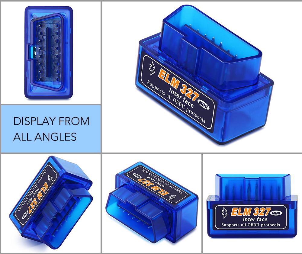 Bluetooth V1.5 Elm327 obd2 сканер OBD Автомобильный диагностический инструмент для Great Wall Haval Hover H3 H5 lifan solano x60 x50 | Автомобили и мотоциклы | АлиЭкспресс