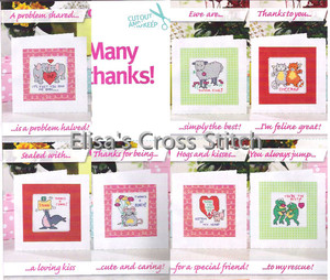 CD198 14ct DIY Invitation Greeting Card  Special Popular Full Set CrossStitch Greeting Card Birthday Christmas Thank Wishes