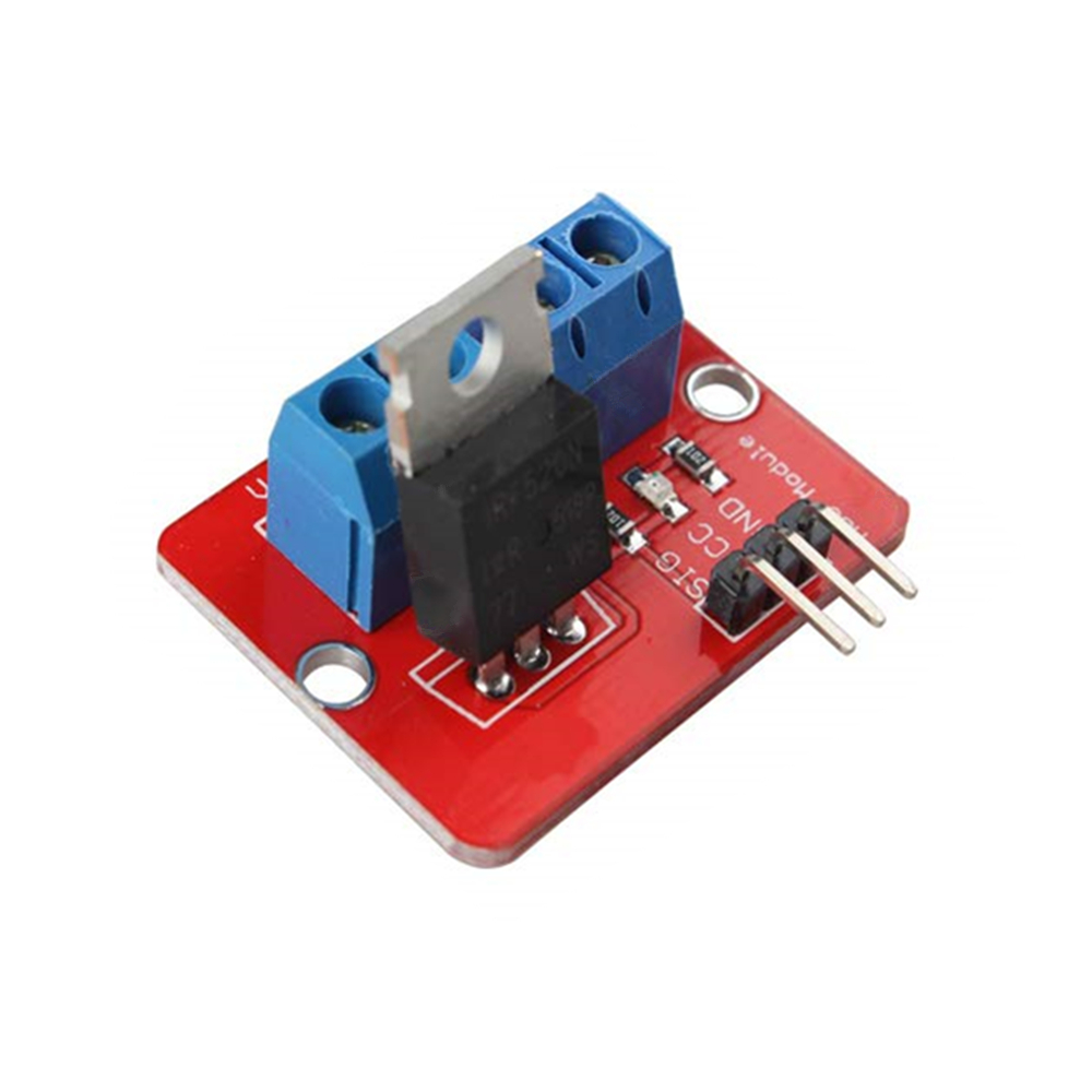0-24V Top Mosfet Button IRF520 MOS Driver Module For Arduino MCU ARM Raspberry Pi PWM Module Output