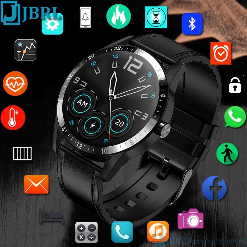 Bluetooth Call Smart Watch Men For Android IOS Smartwatch Electronics Smart Clock Fitness Tracker New Top Full Touch Smart watch|Smart Watches|   - AliExpress