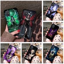 Gothic Skull Fairy Phone Cases For Samsung Galaxy A21S A01 A11 A31 A81 A10 A20E A30 A40 A50 A70 A80 A71 A51 5G