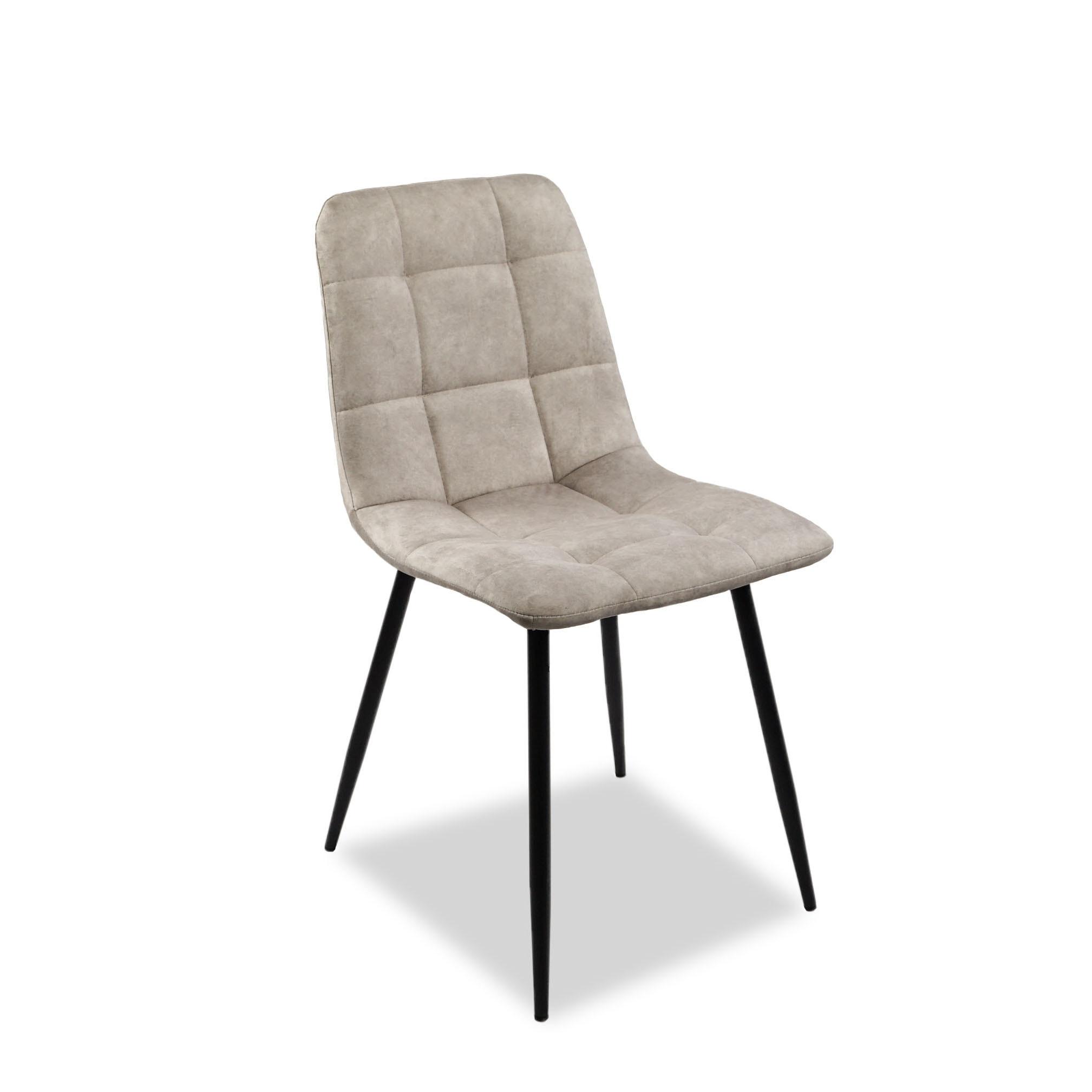 Chaise de salle à manger 4 pièces, velours en cuir artificiel, chaise de cuisine, chaise en fer, livraison gratuite de style russe de haute qualité