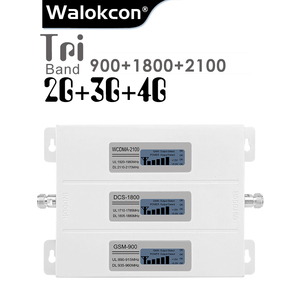 Image 1 - 2G 3G 4G Signaal Booster Gsm Repeater Versterker 4G Mobiele Telefoon Gsm 900 Dcs 1800 Wcdma 2100 Tir Band Mobiele Telefoon Cellulaire Booster