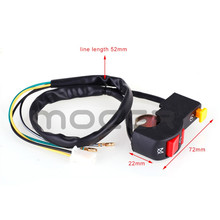 Motorcycle-Handlebar-Switch Stop Refit-Accessories Electric-Starter On-Off-Button Flameout