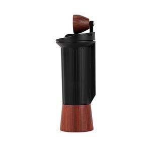 Image 5 - Improved version portable coffee mill Manual coffee grinder Stainless steel burr Hidden handle grinder