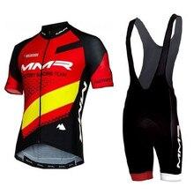 Conjunto de ropa de ciclismo profesional para hombre maillot de manga corta con almohadilla de gel para ciclismo de montaña o carretera