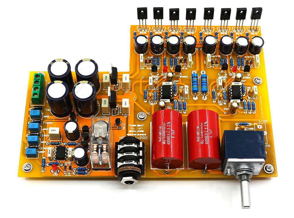 Amplificatore DIY in KIT per cuffie ad alta impedenza Hc3dcbec7ec1d4b53bdc8ec65df0c4e56m