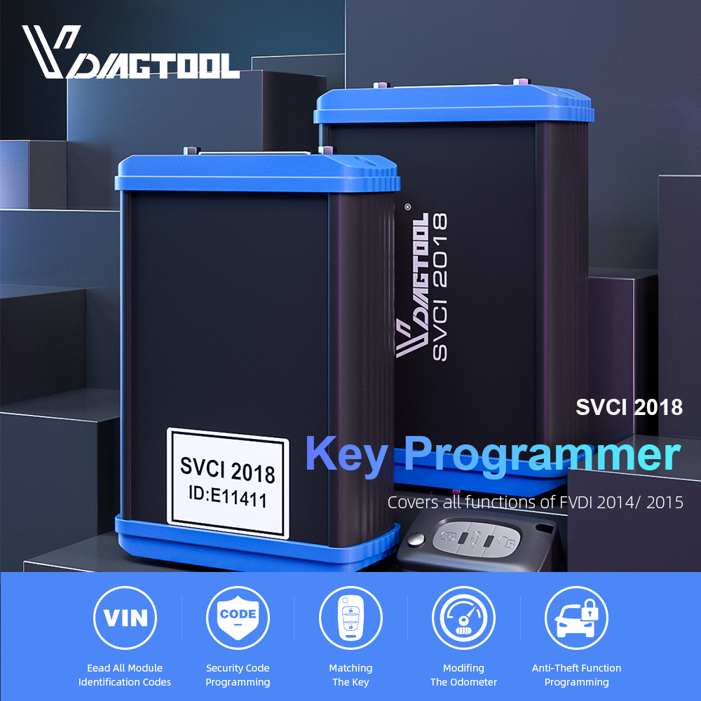 FVDI 2018 ABRITES Scanner Key Programmer Covers FVDI SVCI 2014 2015 FVDI J2534 VVDI2 For Most Cars Diagnostic Tool