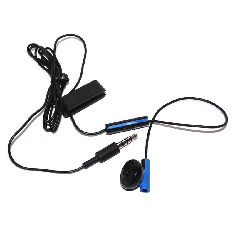 Gaming Headset Kopfhörer Mit Mikrofon AUF/OFF Control Für Sony Playstation 4 PS4 Controller Spielen Spiel ohrhörer gaming headset PS4 gaming Earphone Wired headset Game <font><b>headphone</b></font> Smartphone phone <font><b>headphones</b></font> wired image