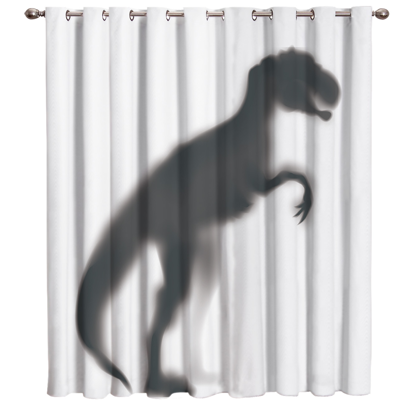 Permalink to Dinosaur Silhouette Window Treatments Curtains Valance Window Blinds Living Room Outdoor Drapes Decor Window Treatment Sets