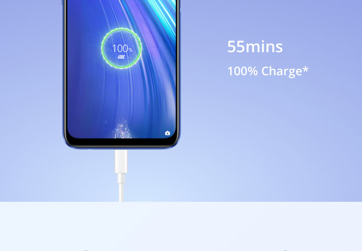 realme 6 8GB RAM 128GB ROM Global Version Mobile Phone 90Hz Display Helio G90T 30W Flash Charge 64MP Camera 4300mAh Cellphone