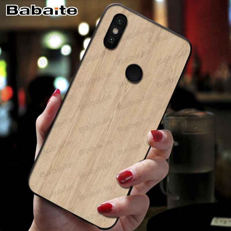 Funda para xiaomi mi 9se funda de teléfono móvil de madera suave para xiaomi mi 8se 6 mi 8lite note2 note3 mi 9se max2 max3 cubierta