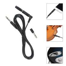 Yiwa 3 м/10 футов инструмент гитарный аудио кабель 1/4 дюйма