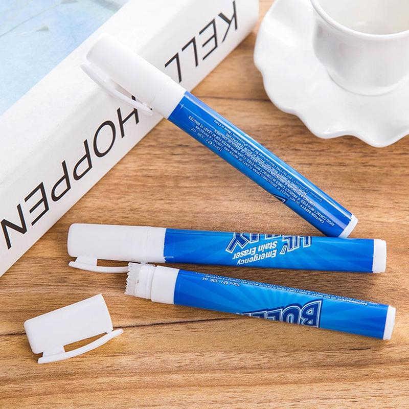 تنظيف مسحوق منظف القلم الملابس الشحوم إزالة بقع القلم إزالة التلوث النسيج تجوب الطوارئ الأنظف محو V6T7