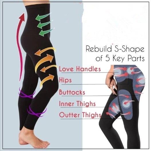 Sleeping Beauty Legs Shaper Pants Legging  Women Body Shaper Panties Slimming Leg Sexy Hip Up Control Dropshipping