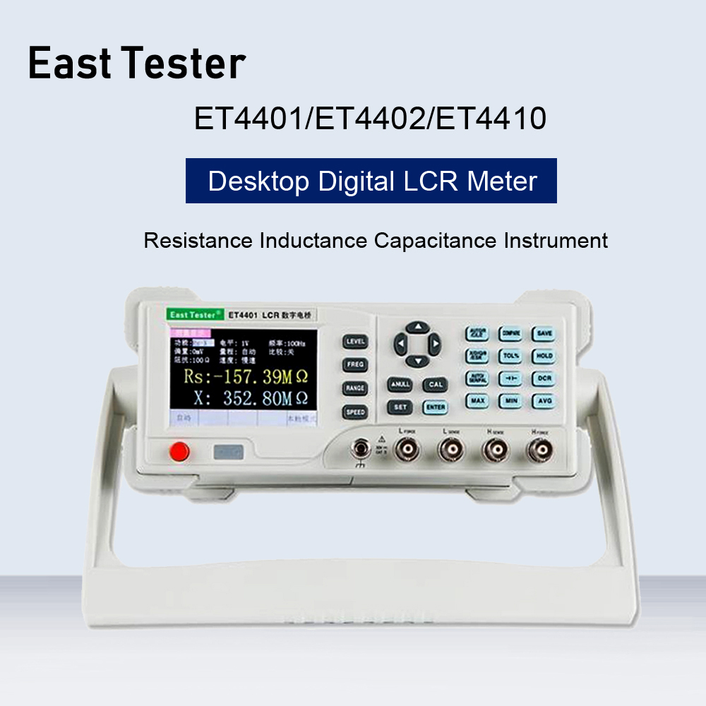 ET4401/ET4402/ET4410 Desktop Digital LCR Meter Capacitance Resistance Impedance Capacitance Inductance Measure Instrument