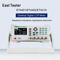 Et4401/et4402/et4410 desktop digital lcr medidor capacitância resistência impedância capacitância indutância medida instrumento Medidores de capacitância     -
